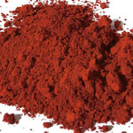 Pigments Natural Mineral Apt red ochre