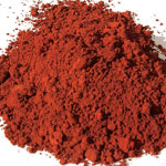 Pigments Natural Mineral Puisaye red ochre