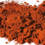 Pigments Natural Mineral Dark red ochre