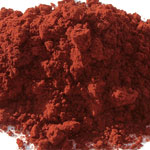 Pigments Natural Mineral Haematite red