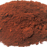 Pigments Natural Mineral Pouzolle red
