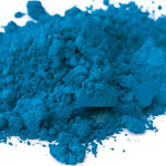 Pigments Synthetic Mineral Contemporary blue (cobalt oxide)