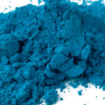 Pigments Synthetic Mineral Dark blue  (cobalt oxide)