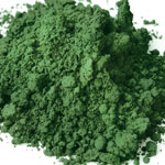 Pigments Synthetic Mineral Light green (chromium oxide)