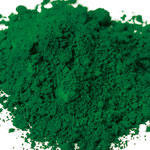 Pigments Synthetic Mineral Dark green RV15 (chromium oxide)