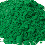 Pigments Synthetic Mineral Contemporary bright green (cobalt oxide)