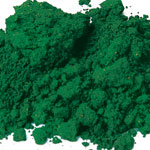 Pigments Synthetic Mineral Soft green